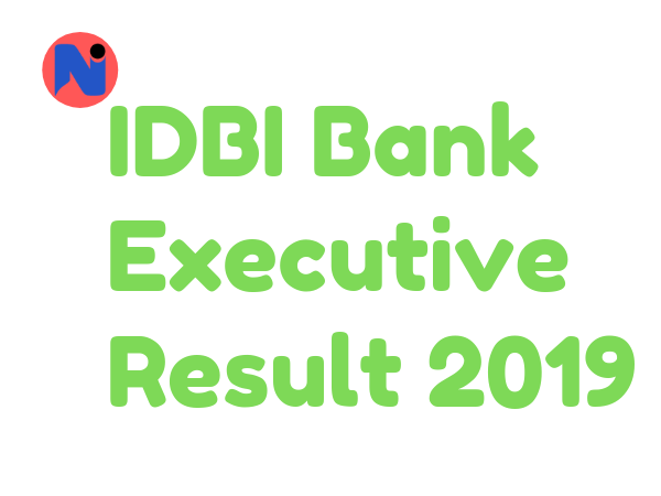 IDBI Bank Executive Result