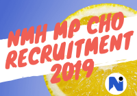 NHM MP Community Health Officer (CHO) Notification 2019