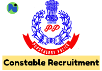 Puducherry Police Constable Notification 2019