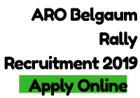 ARO Belgaum Rally Recruitment 2019