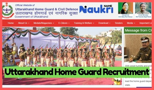 Uttarakhand Home Guard Recruitment