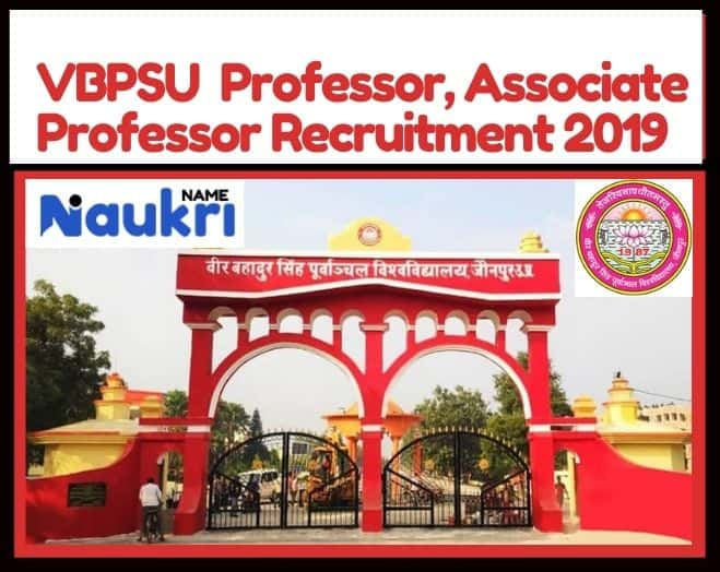 VBPSU Professor, Associate Professor Recruitment 2019