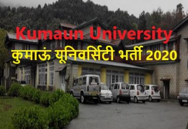 Kumaun University Field Assistant Career