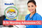 B.Sc Nursing Entrance Examinations Chhatisgarh
