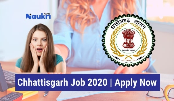 Chhattisgarh Job 2020 Apply Now For Various Posts