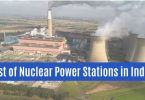 List of Nuclear Power Stations in India