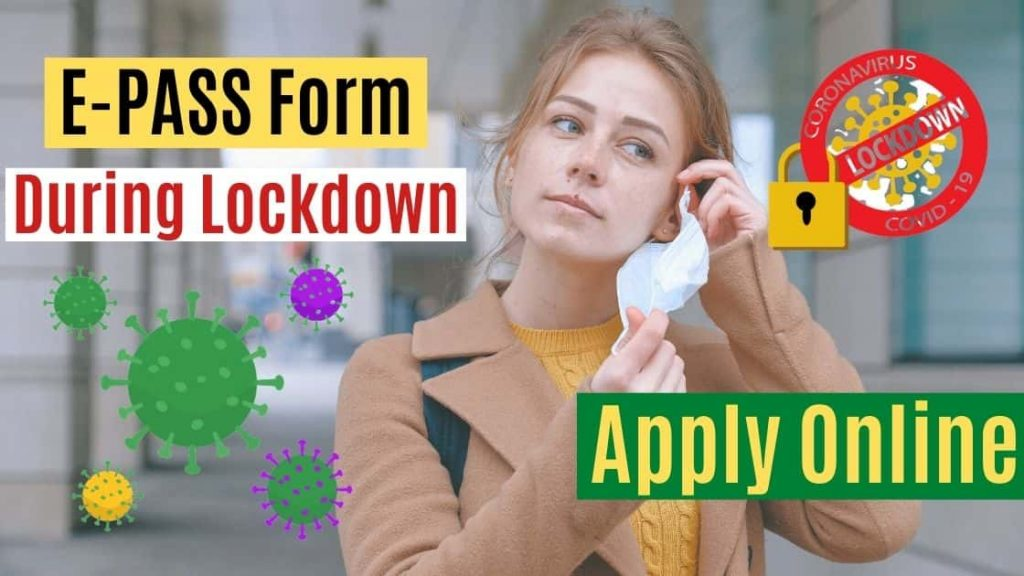 Lockdown E Pass Online Application Form 2020