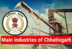 Main industries of Chhatisgarh State