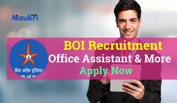 BOI Recruitment
