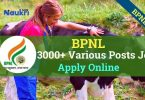 BPNL Job Recruitment