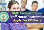DME AP Staff Nurse & Technician Recruitment