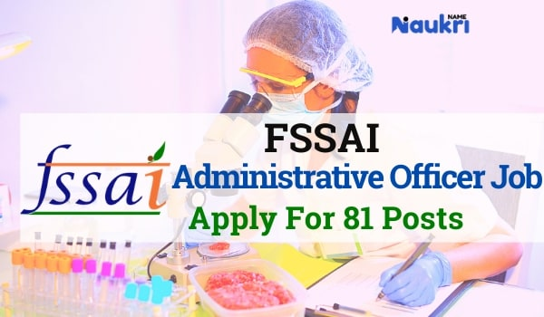 FSSAI Jobs Recruitment