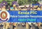KPSC Police Constable Recruitment
