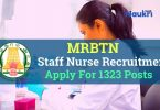 MRBTN Staff nurse Recruitment