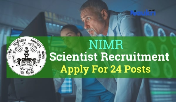 NIMR Recruitment 2020