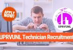 uprvunl technician recruitment