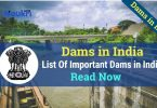 most important dams in india