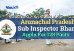 Arunachal Pradesh PSC Job Recruitment