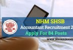 SHSB Accountant Recruitment
